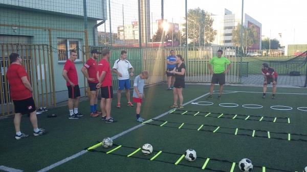 Core trénink a atletický trénink sc xaverov