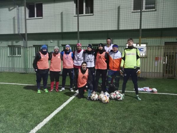 Xaverov a-tým jaro 2018 tréninková jednotka