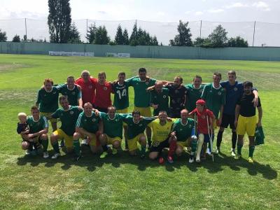 SC Xaverov - FC Tempo Praha B Jaro 2018