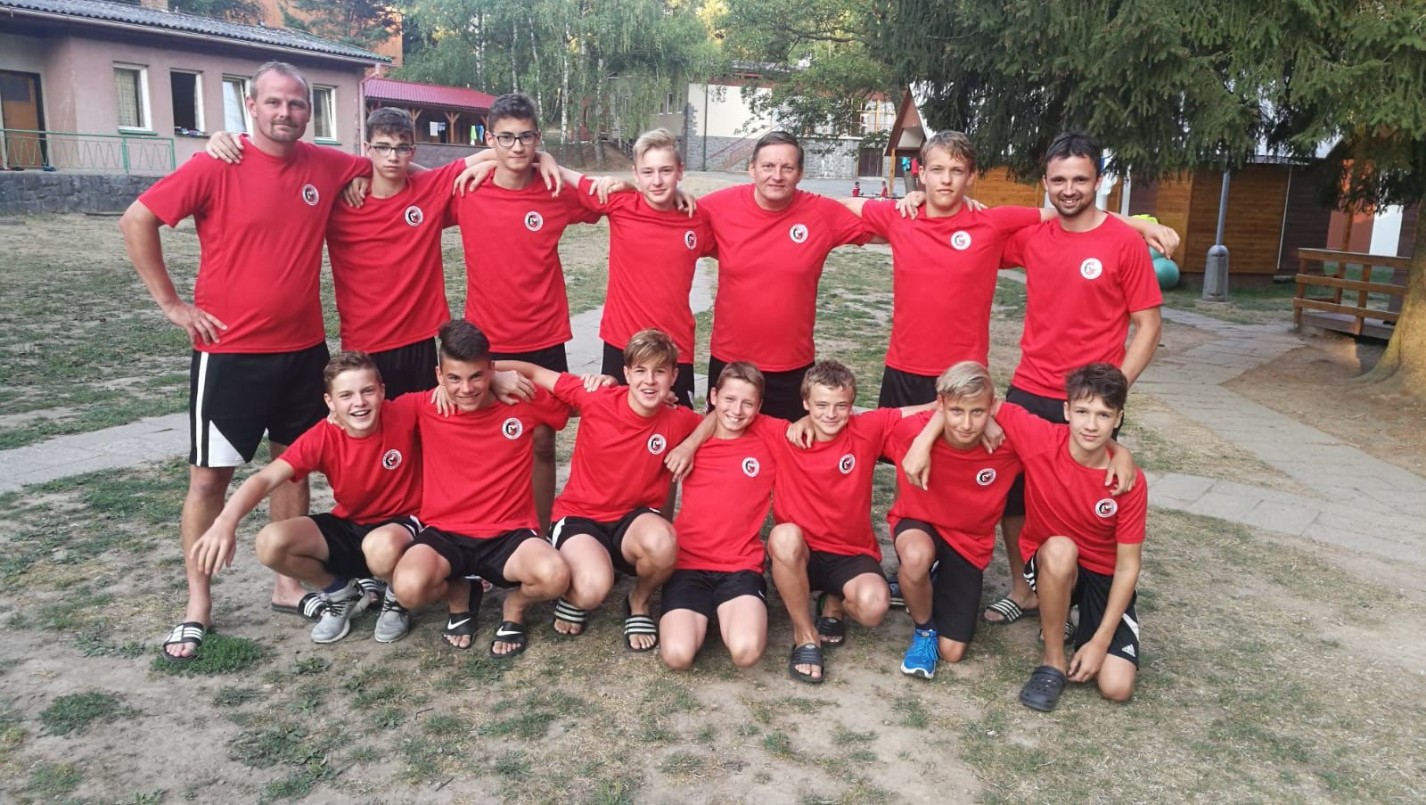 Mladší dorost SC Xaverov Horní Bradlo 2018