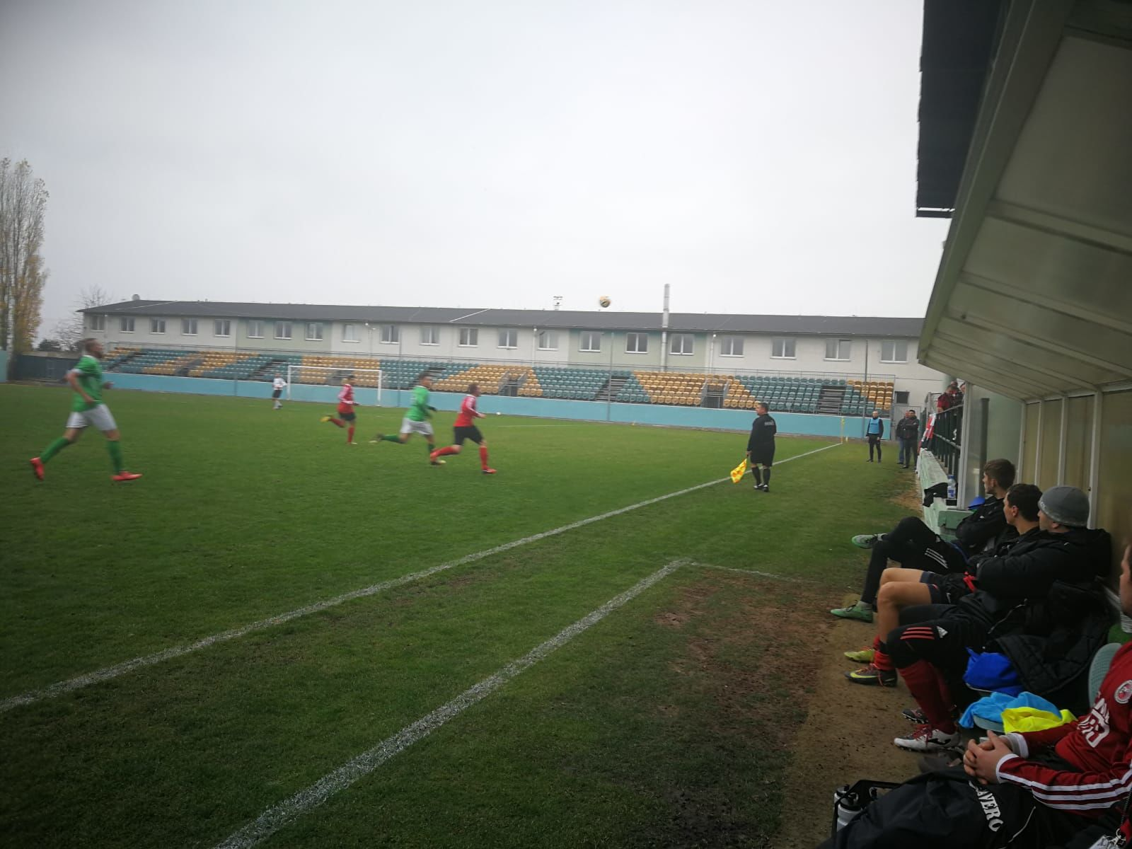 SC Xaverov - FK Újezd nad Lesy 0:1 Podzim 2018